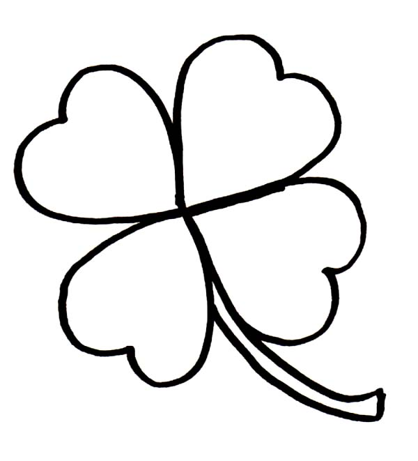 Clover black and white clipart picture Clover Black And White | Free download best Clover Black And White ... picture