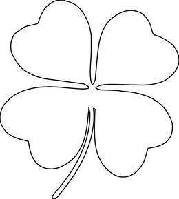 Clover black and white clipart banner freeuse stock Clover clipart black and white 3 » Clipart Portal banner freeuse stock