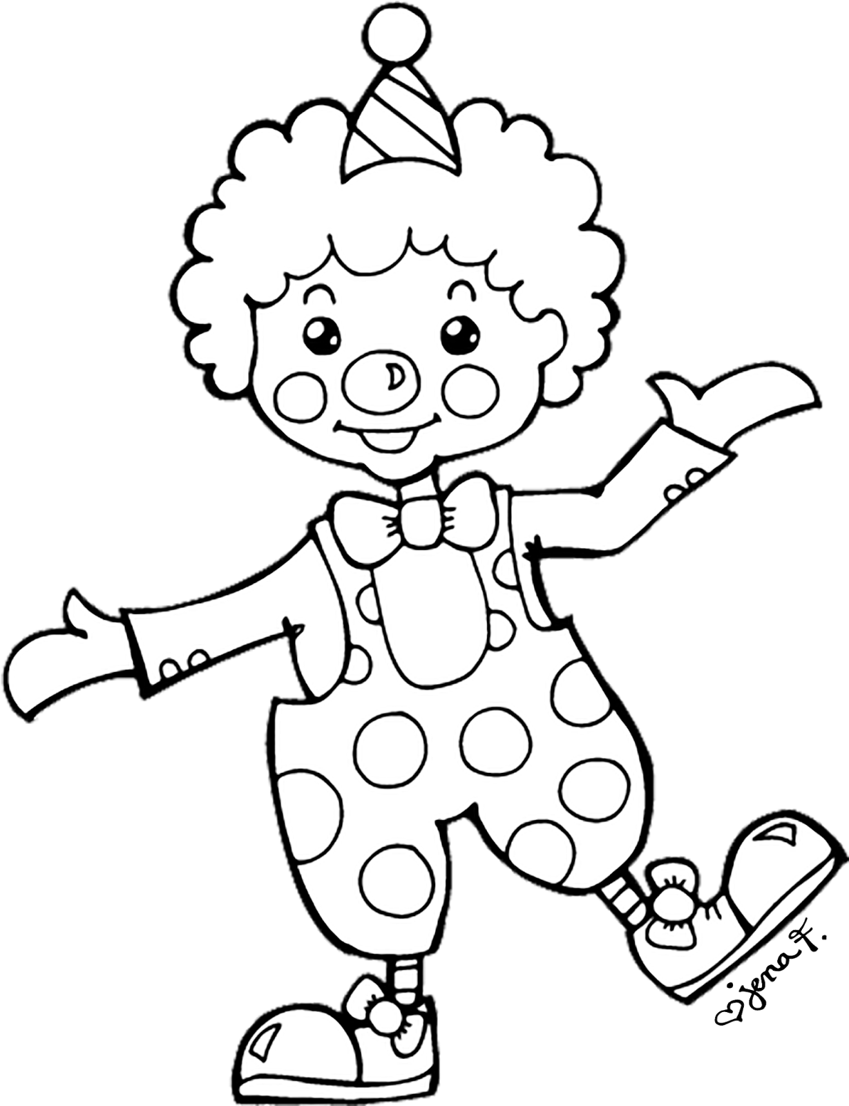 Clown and circus clipart black and white jpg free download Download HD Circus Clown Clipart Black And White - Clip Art Black ... jpg free download