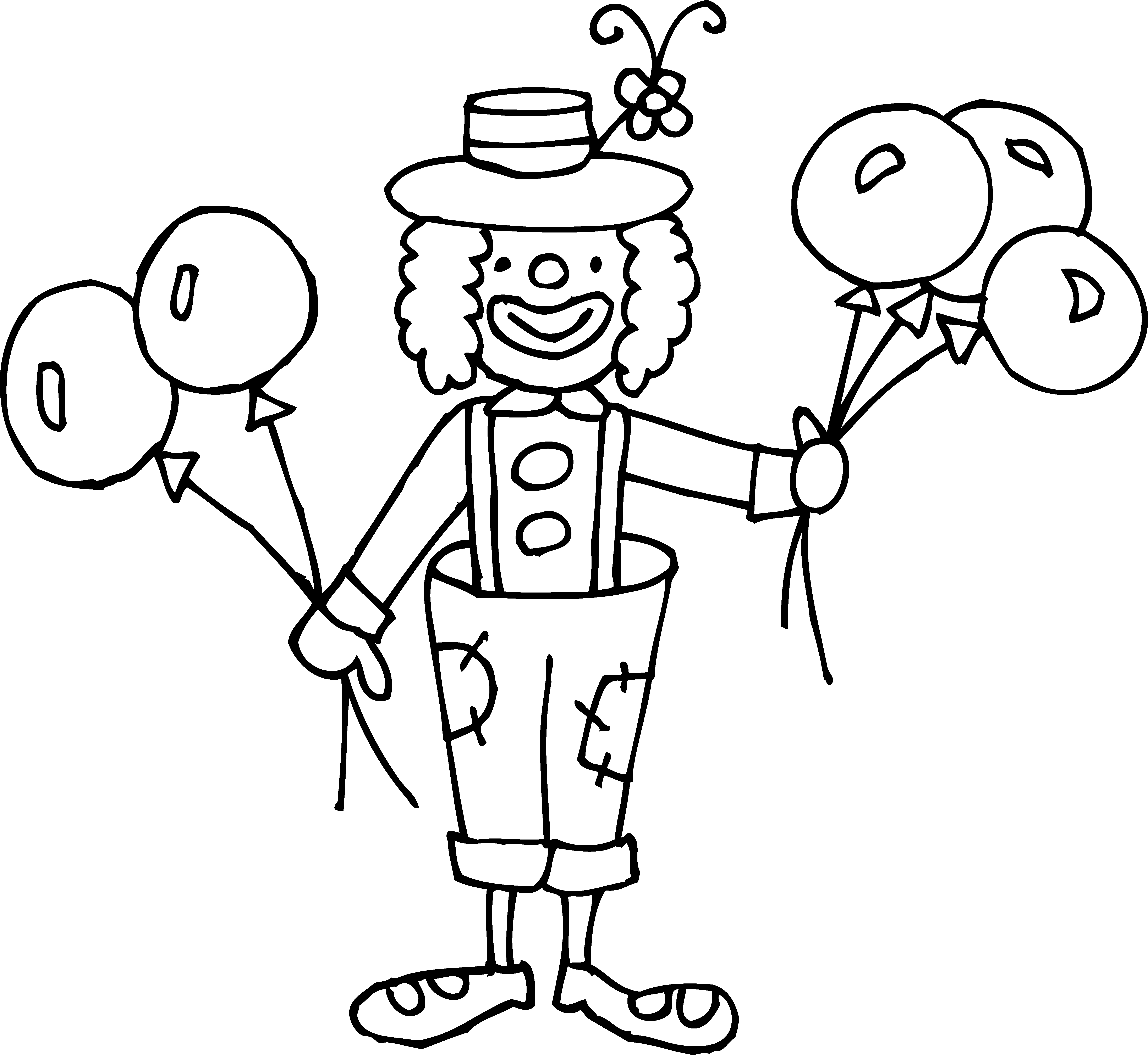 Clown and circus clipart black and white clip art freeuse download Free Clown Images, Download Free Clip Art, Free Clip Art on Clipart ... clip art freeuse download