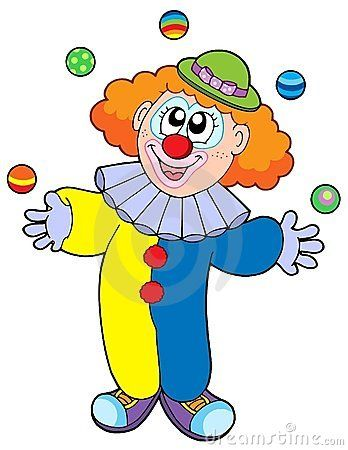 Clown juggling clipart banner library Juggling cartoon clown | Projects to Try | Clown images, Clown ... banner library