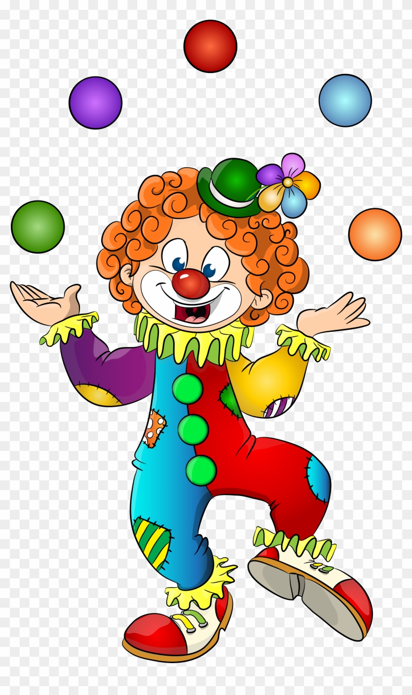 Clown juggling clipart clip art free stock Clown\'s - Clown Clipart, HD Png Download - 4874x8000(#327999) - PngFind clip art free stock