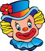Clown kopf clipart graphic free download Clown kopf clipart - ClipartFest graphic free download