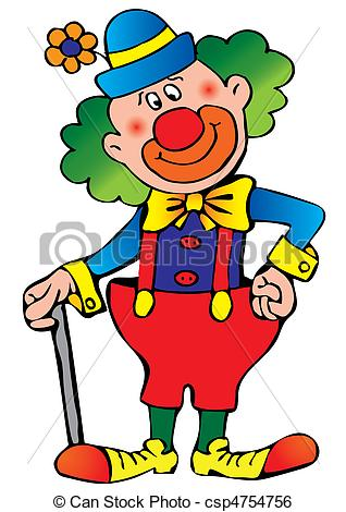 Clown kopf clipart svg library stock Clown Illustrations and Clipart. 13,998 Clown royalty free ... svg library stock