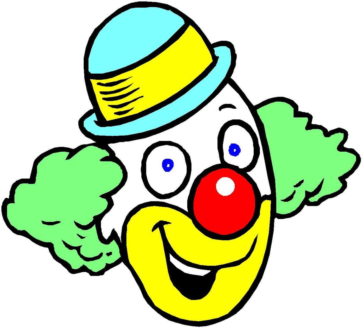 Clown kopf clipart clip transparent download Clipart of clown - ClipartFox clip transparent download