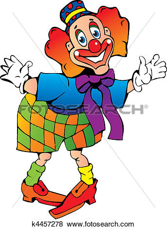 Clown kopf clipart library Clip Art of Funny red-haired clown. k4457278 - Search Clipart ... library