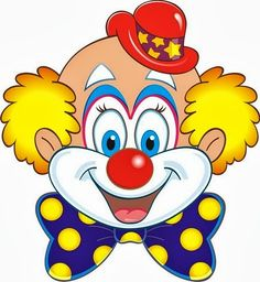Clipartfest holiday decorations on. Clown kopf clipart