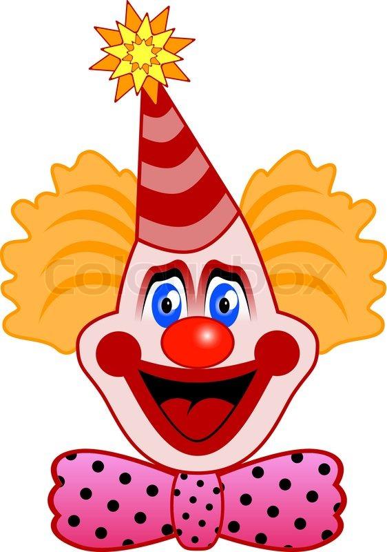 Clipartfox leiter der feier. Clown kopf clipart