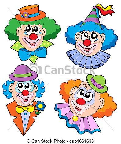 Clown kopf clipart. Clipartfox clowns sammlung