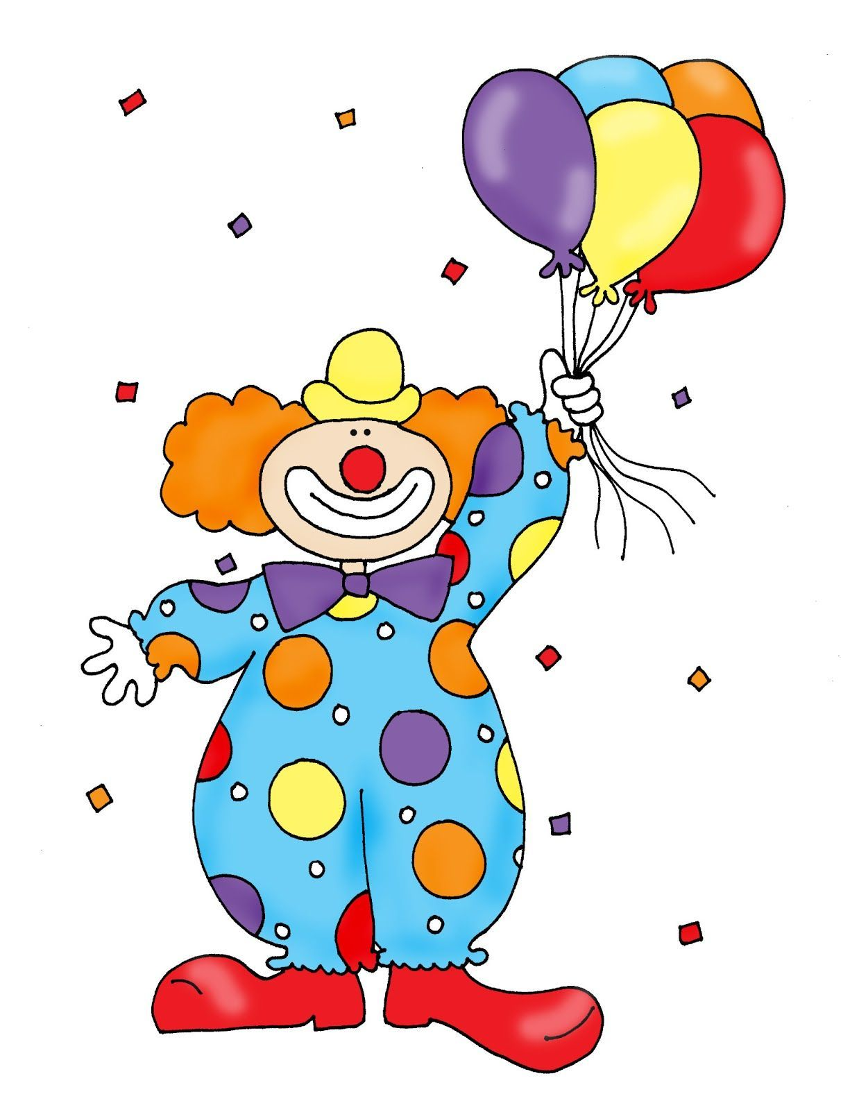 Clown with balloon clipart svg transparent download Clown with balloons clipart 4 » Clipart Portal svg transparent download