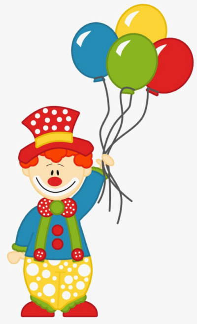 Clown with balloon clipart svg black and white stock Clown PNG - DLPNG.com svg black and white stock