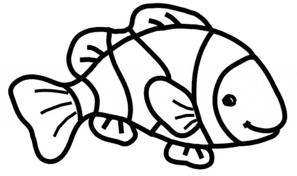Clownfish clipart black and white clip royalty free download Clown Fish Clipart Black And White | Free download best Clown Fish ... clip royalty free download