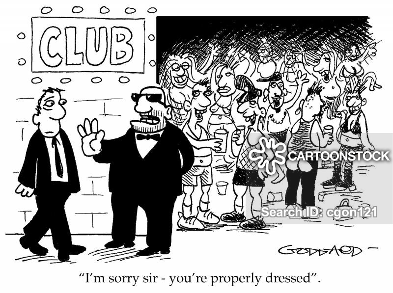Club bouncer clipart graphic freeuse stock Bouncer Cartoons and Comics - funny pictures from CartoonStock graphic freeuse stock