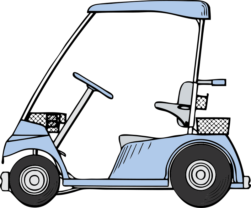 Photos and clipart of a turkey swinging a golf club clip art black and white download Golf Cart Clipart at GetDrawings.com | Free for personal use Golf ... clip art black and white download