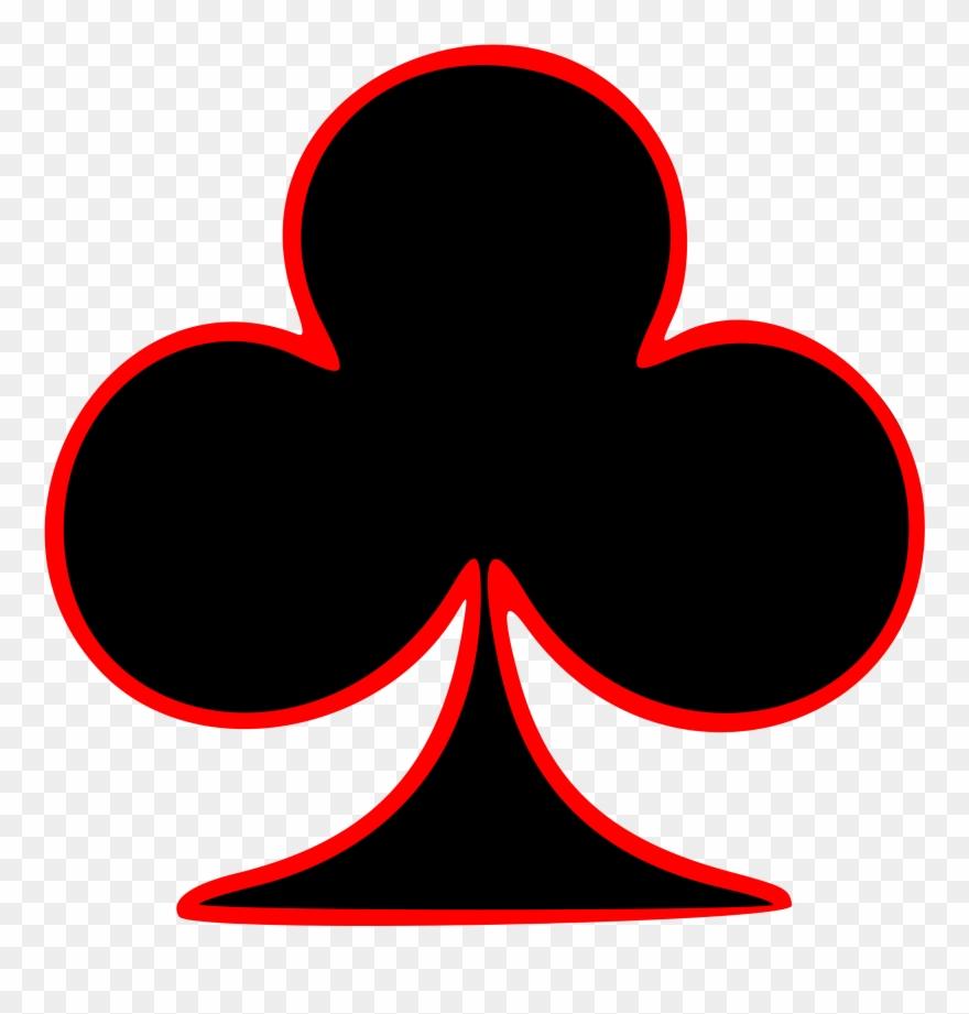 Club clipart clip library Club Clipart Deck Card - Simbolo De Las Cartas De Poker - Png ... clip library