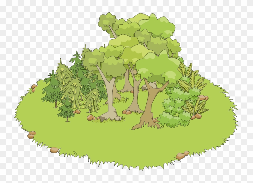 Clump clipart png freeuse Picture Transparent Library Free Forest Cliparts Download - Clump ... png freeuse