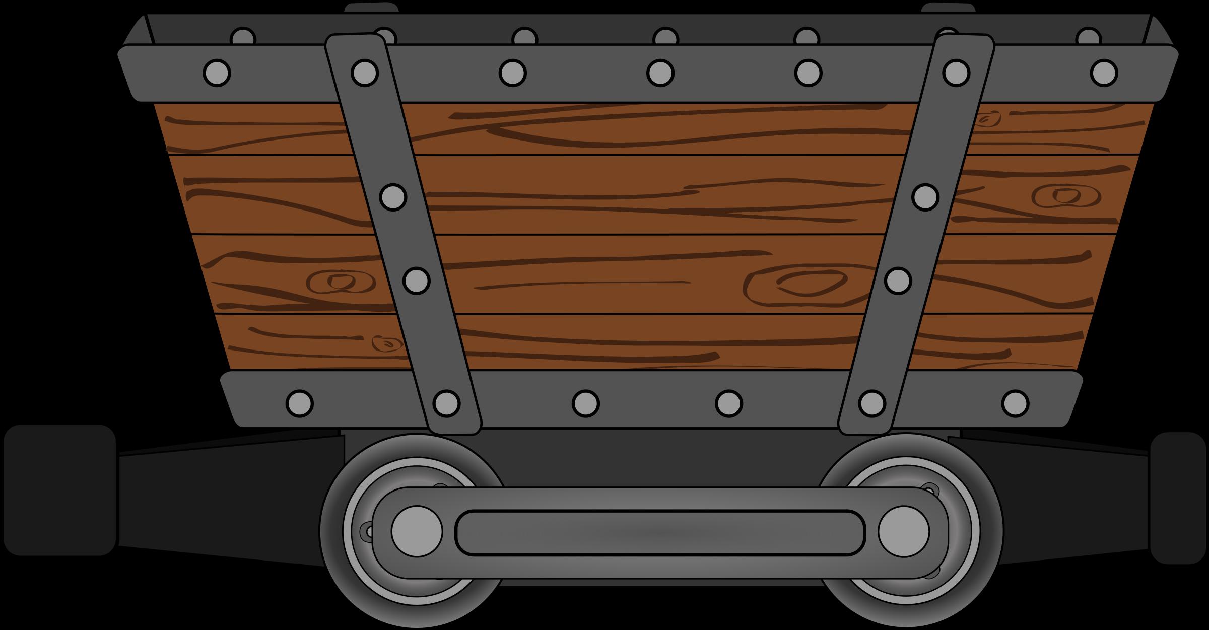 Coal car clipart vector transparent Clipart - mine mining car vector transparent