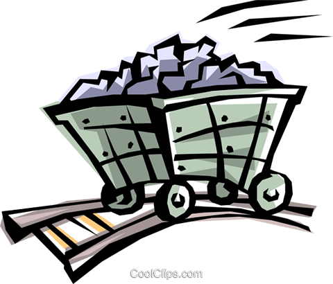 Coal clipart free graphic black and white Cool coal truck Royalty Free Vector Clip Art illustration -envi0013 ... graphic black and white