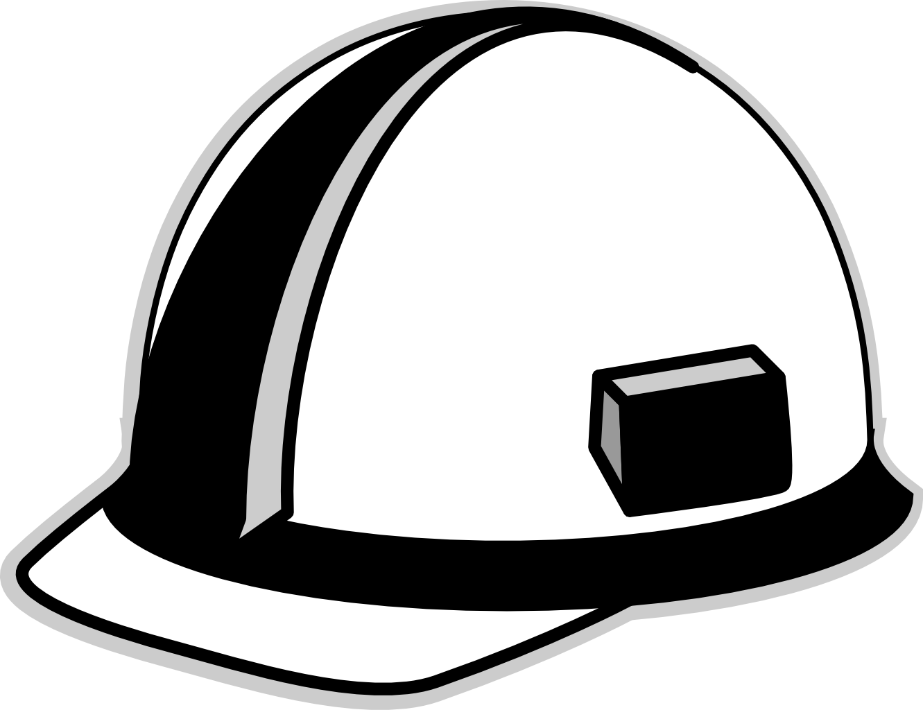 Coal miners hard hat clipart black and white clip art free library Free Hard Hat Art, Download Free Clip Art, Free Clip Art on Clipart ... clip art free library