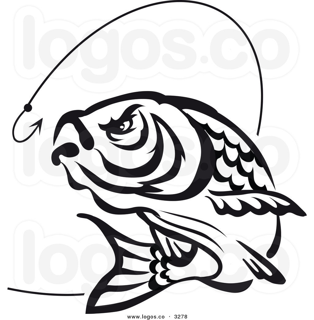 Coarse fishing clipart clip black and white stock Collection of Carp clipart | Free download best Carp clipart on ... clip black and white stock