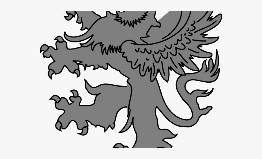 Coat of arms black and white free clipart clip transparent stock White Lion Clipart Medieval - Giessen Coat Of Arms #1676590 - Free ... clip transparent stock