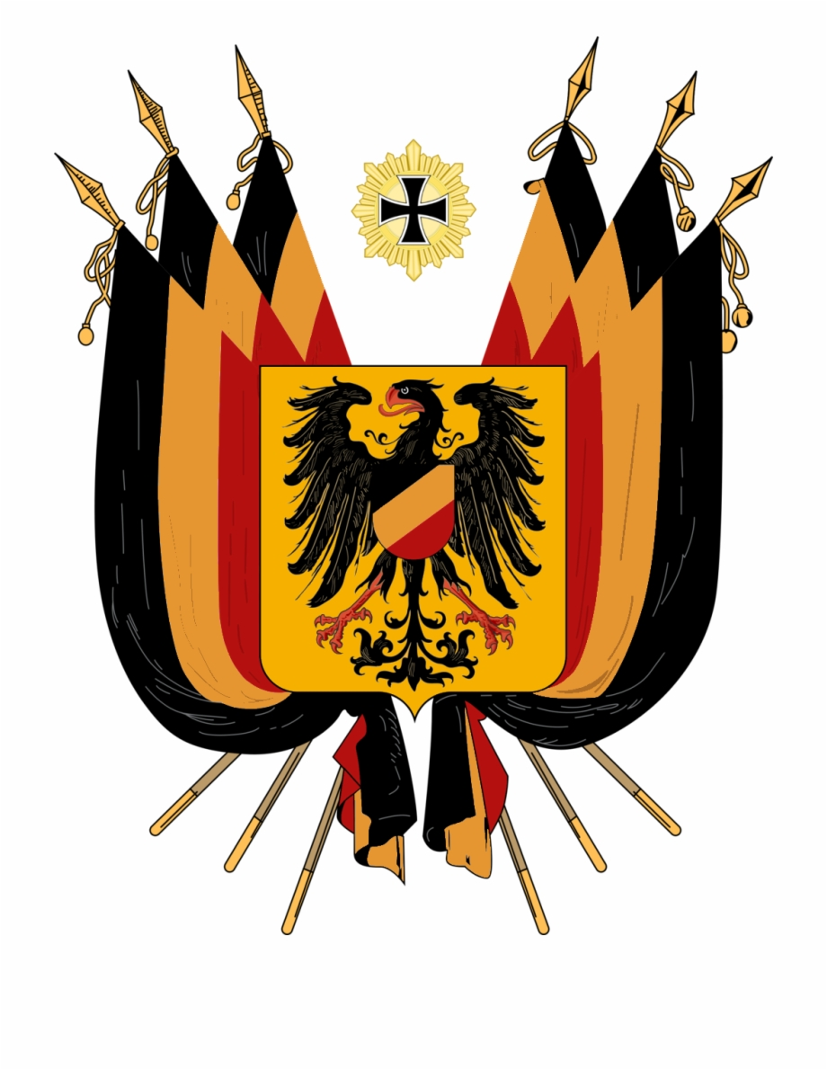 Coat of arms of germany clipart banner library Alternate German Flag2 - Ww1 German Coat Of Arms Free PNG Images ... banner library