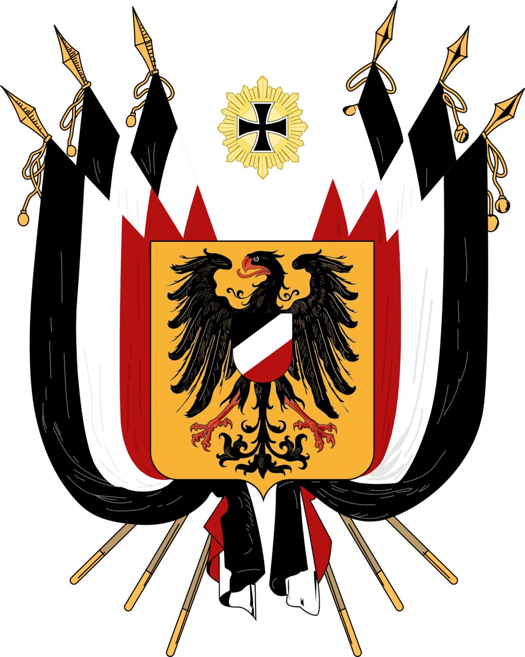 Coat of arms of germany clipart stock HD East Germany Flag Clipart Person - Prussian Coat Of Arms , Free ... stock