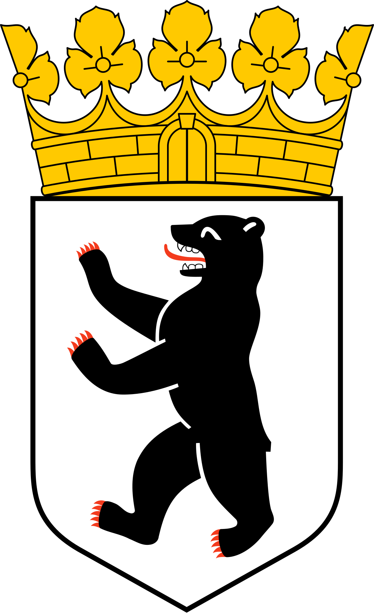 Coat of arms of germany clipart clipart library download Coat of arms of Berlin - Wikipedia clipart library download