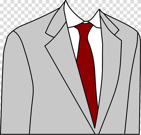 Tie coat clipart