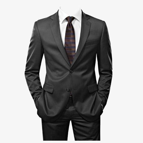 Coat tie clipart image black and white stock Men\'s Suits, Suit, Men, Black PNG Transparent Image and Clipart for ... image black and white stock