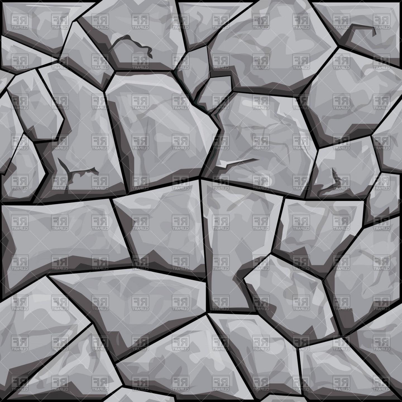 Coblestone clipart banner Simple Grey Stone Seamless Pattern Vector Clipart | SOIDERGI banner