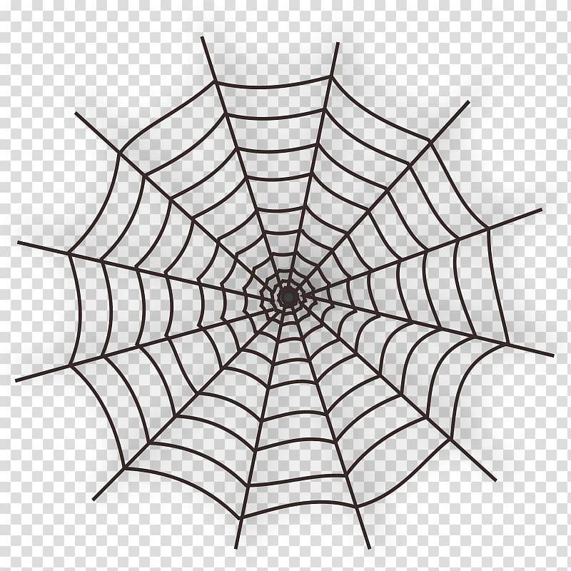 Cobweb heart clipart jpg black and white stock Spider web , Cobweb Free transparent background PNG clipart ... jpg black and white stock