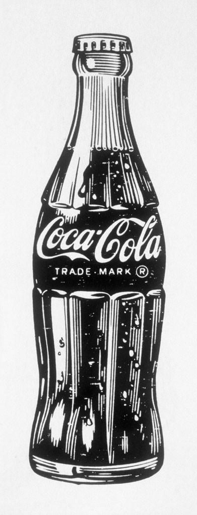 Coca cola bottle clipart black and white banner stock Soda Bottle Drawing at PaintingValley.com | Explore collection of ... banner stock