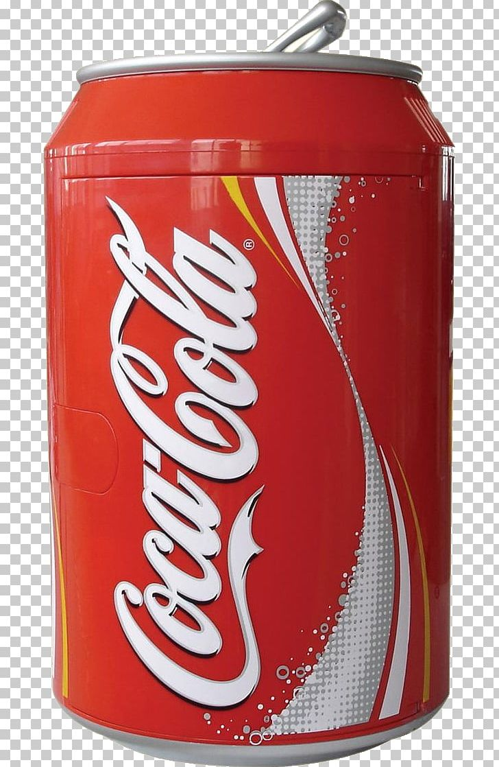 Coca cola can clipart jpg freeuse Coca-Cola Soft Drink Refrigerator Beverage Can PNG, Clipart ... jpg freeuse
