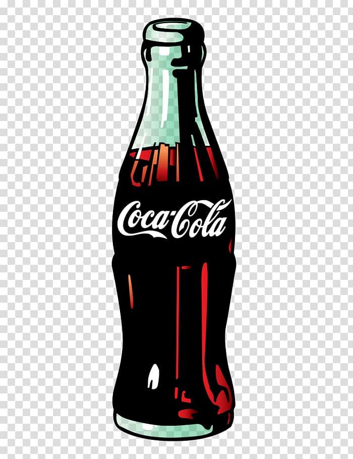 Coca cola clipart clipart freeuse download Green Coca-Cola Bottles Fizzy Drinks, coke transparent background ... clipart freeuse download