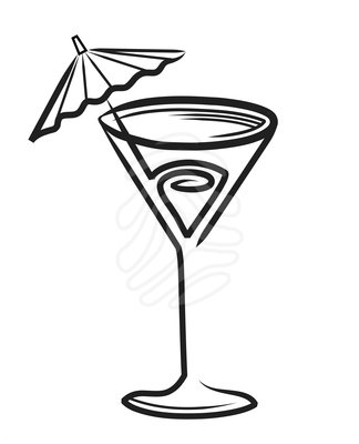 Cocktail clipart black and white banner download Cocktail clipart black and white 4 » Clipart Station banner download