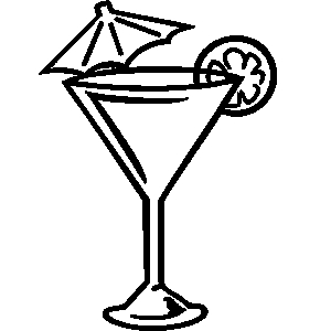 Cocktail clipart black and white jpg royalty free download Cocktail clipart black and white » Clipart Station jpg royalty free download