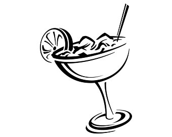 Cocktail clipart black and white royalty free Cocktail Clipart Black And White (90+ images in Collection) Page 2 royalty free