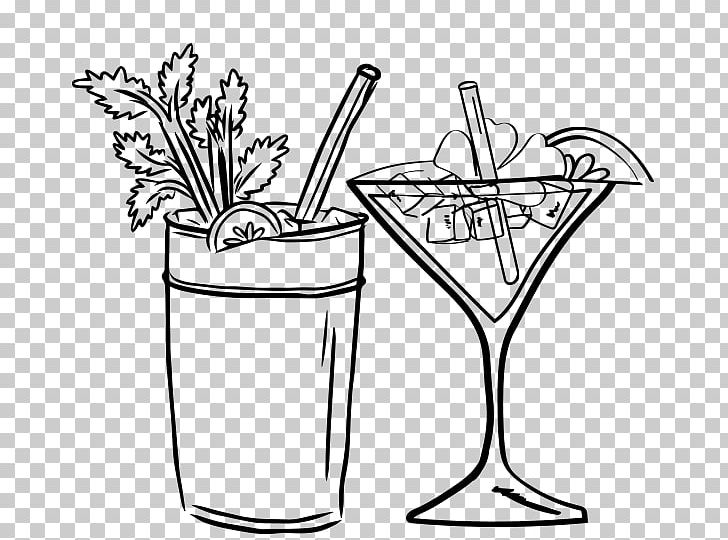 Cocktail clipart black and white picture royalty free download Cocktail Liqueur Drink Martini Milkshake PNG, Clipart, Black, Black ... picture royalty free download