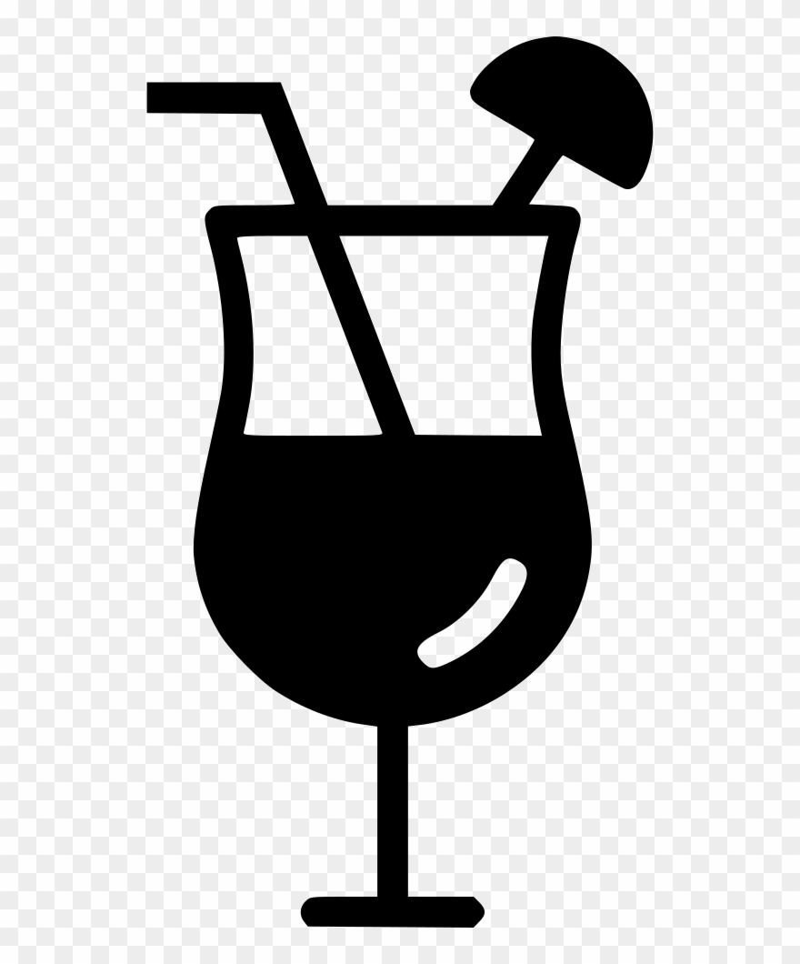 Cocktail clipart black and white banner free download Cocktail Mocktail Lounge Beverage Juice Svg Png Icon - Cocktail Png ... banner free download