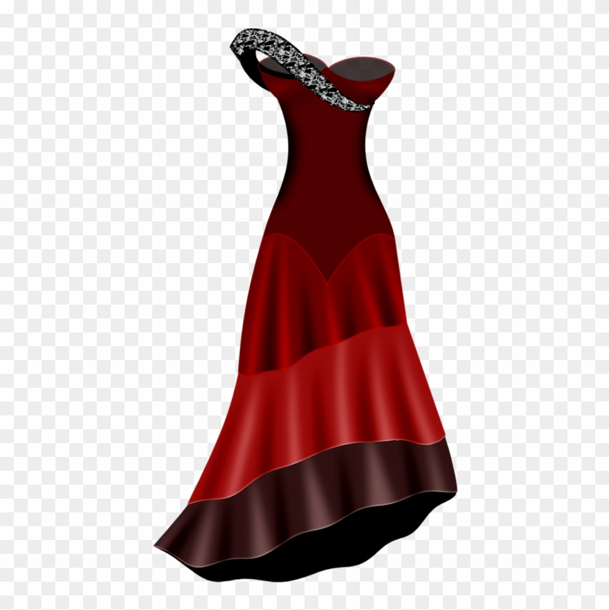 Cocktail dress clipart picture free stock Woman Clothing - Cocktail Dress Clipart (#2028655) - PinClipart picture free stock