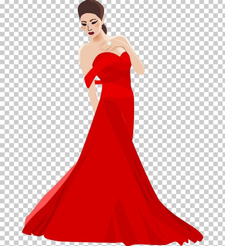 Cocktail dress clipart royalty free library Dress Evening Gown PNG, Clipart, Ball Gown, Beauty, Clip Art ... royalty free library