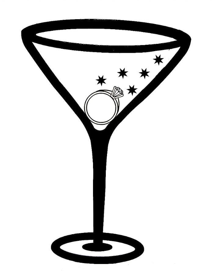 Black martini glass clipart picture transparent download Martini Margarita Cocktail Glass PNG, Clipart, Bachelorette Party ... picture transparent download