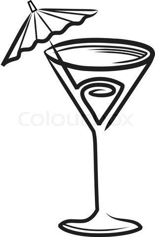 Cocktail umbrella clipart clip transparent stock cocktail%20clipart | Blog Line Art Ideas | Cocktails clipart ... clip transparent stock