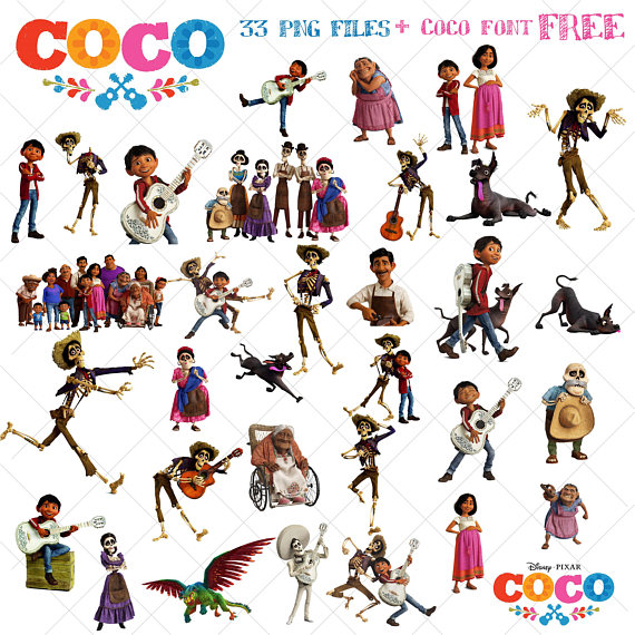 Coco disney clipart banner freeuse library 33 Coco Clipart, Disney Coco Movie, coco png, images ... banner freeuse library