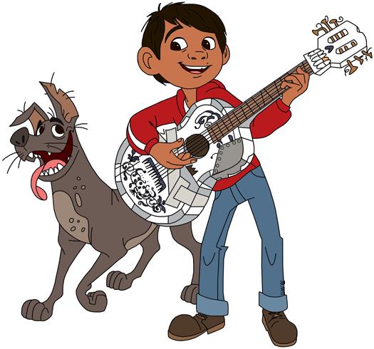 Coco disney clipart jpg freeuse stock Disney Pixar\'s Coco Clip Art | Disney Clip Art Galore jpg freeuse stock