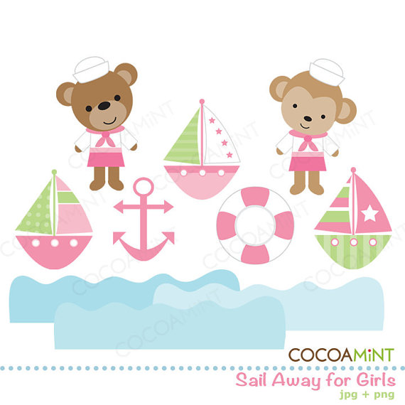 Free clipartfest sail away. Cocoa mint clipart