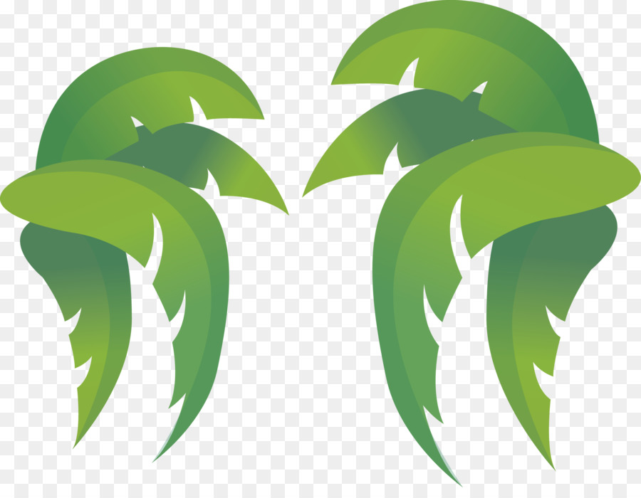 Coconut leaf clipart image free Coconut Tree Cartoon png download - 2398*1825 - Free Transparent ... image free