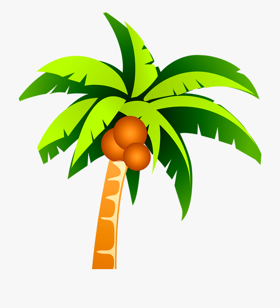 Coconut trees clipart svg stock Coconut Tree Png - Coconut Tree Vector Png #127827 - Free ... svg stock