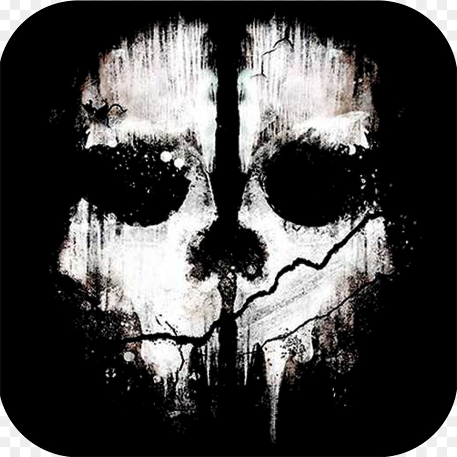 Cod ghosts logo clipart graphic royalty free download Skull Clipart png download - 1024*1024 - Free Transparent ... graphic royalty free download